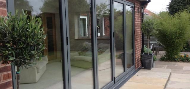 Bi fold doors in Derby